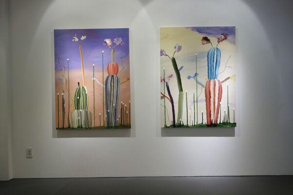 """dust to dust"" by Jun Tsunoda, installation view"