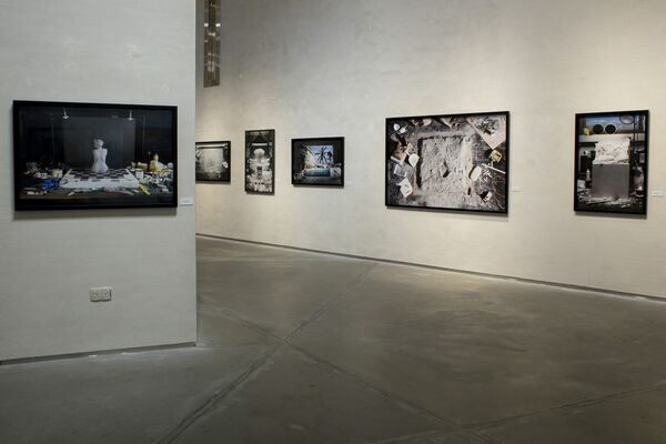 ICONS - works by Jojakim Cortis and Adrian Sonderegger, installation view