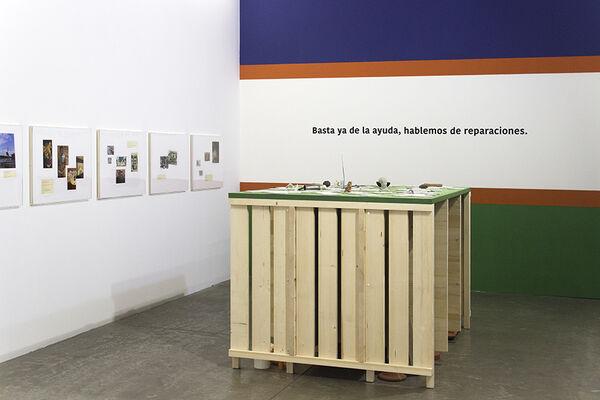 Hablemos de Reparaciones (Let's Talk Reparations), installation view