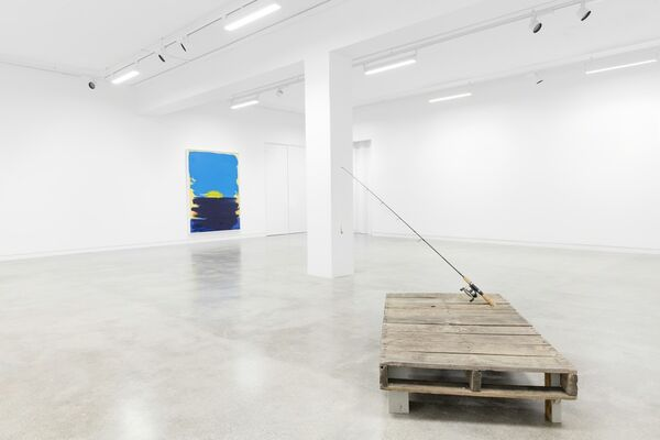 Based on a true story, installation view