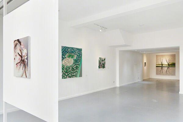 A Sea in Suspense | Tomas Harker, installation view