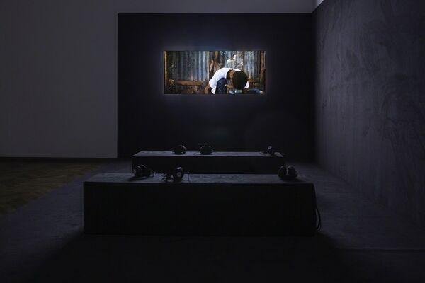 Yuri Ancarani: Sculture, installation view