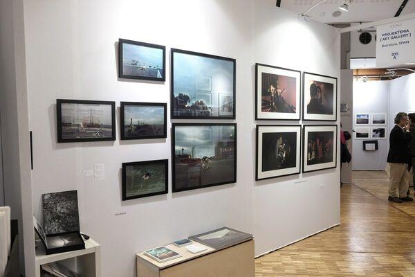 Projekteria [Art Gallery] at Fotofever Paris 2017, installation view