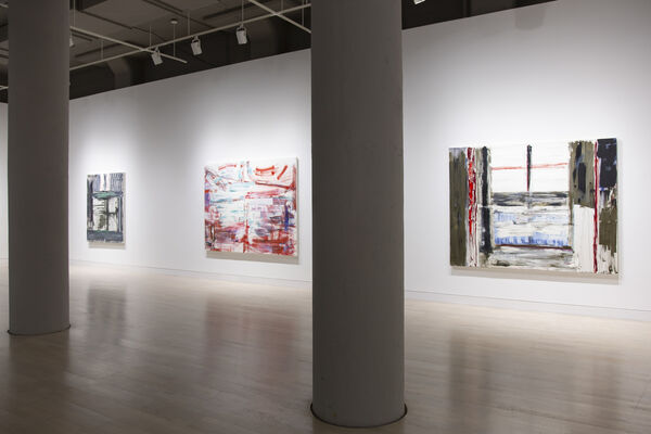 Louise Fishman: My City, installation view
