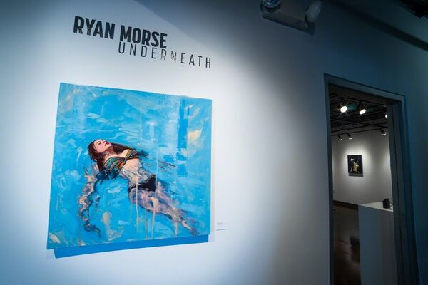 Ryan Morse: Underneath, installation view