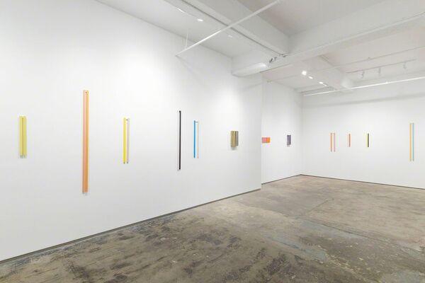 Velhas Caixas Novas Ripas (1996 to 2019), installation view