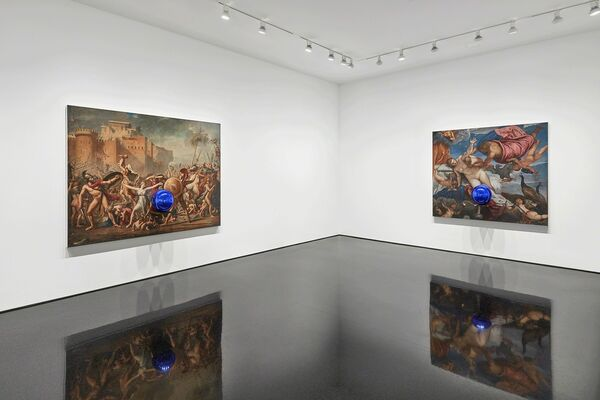 Jeff Koons, installation view