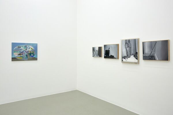 Málverkasýning, installation view