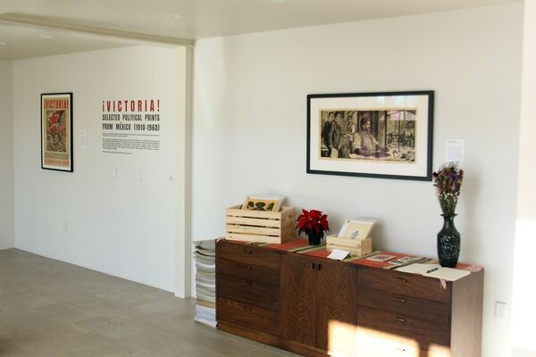¡VICTORIA! Selected Political Prints From Mexico (1910-1960), installation view