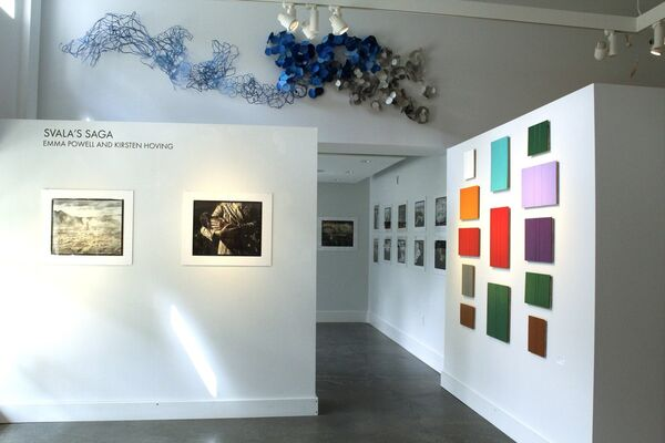 Words are Elves, installation view