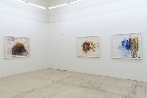 Martha Jungwirth - PAROS 2015, installation view