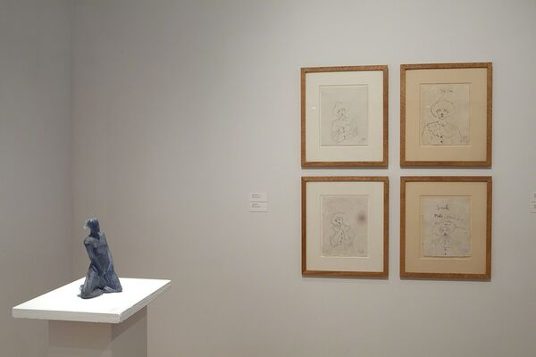 Sculptors and their Drawings, installation view