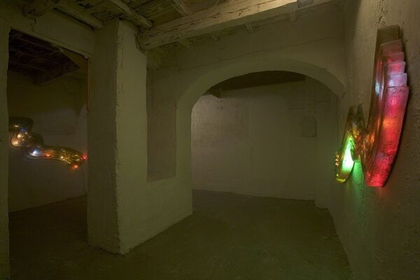 Dennis Oppenheim - Senza Titolo, installation view