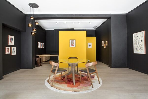 Met Ander Oë, installation view