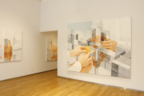 Liang Hao : Unfolding into the Expanse, installation view