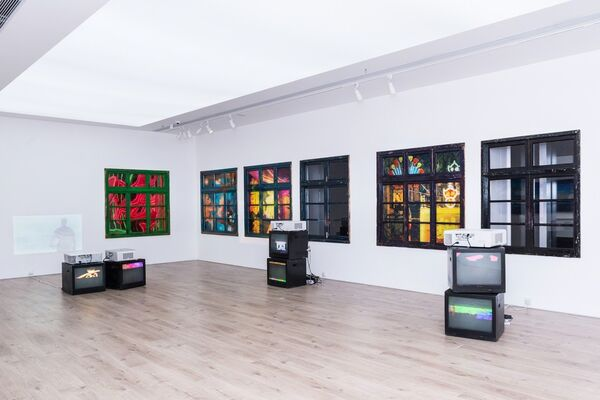 Li Qing Solo Project, installation view