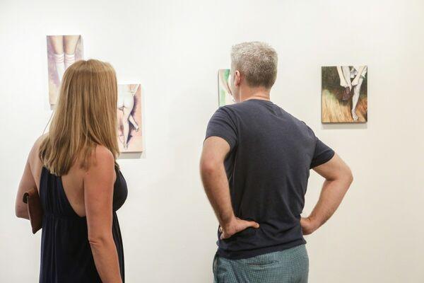 Still Standing: a solo exhibition by Lauren Rinaldi, installation view