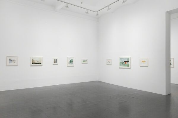 Niklas Eneblom - Why Can't There Be a Mountain on the Horizon, installation view