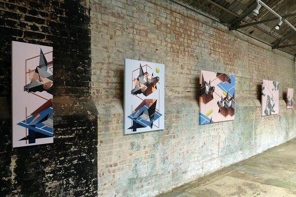 Wired, installation view