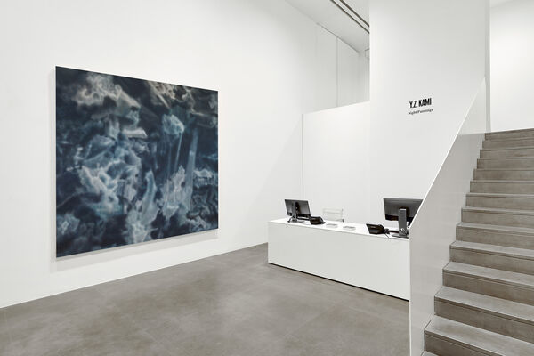 Y.Z. Kami: Night Paintings, installation view