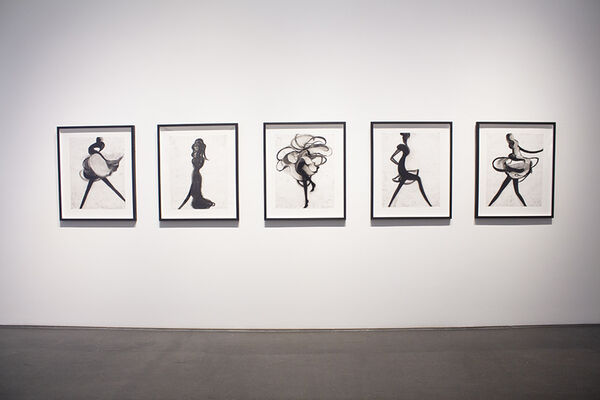 """Cathy Daley - """"Caress"""", installation view"""