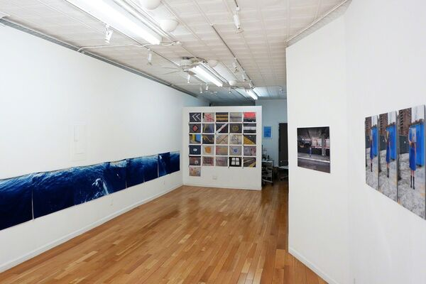 Stop carrying out your intentions and watch for my signals., installation view