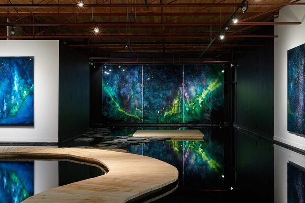 Steve Driscoll : And a Dark Wind Blows, installation view
