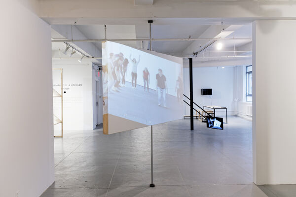 Apparatus for a Utopian Image, installation view