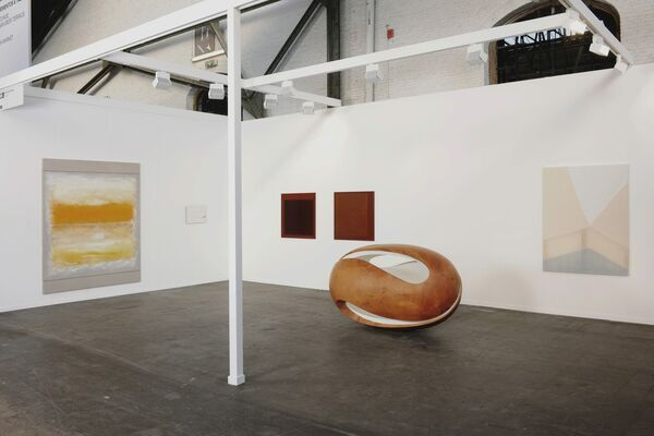 Ronchini at Art Brussels 2017, installation view