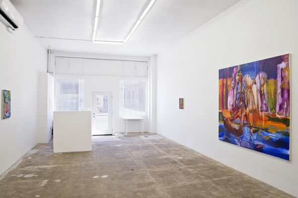 The Wailing Sisters, installation view