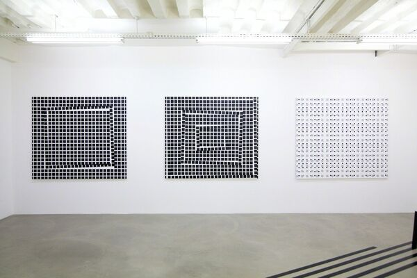 Based on anarchic structures, installation view