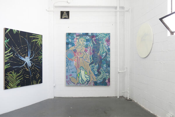 Pretty as she goes, installation view