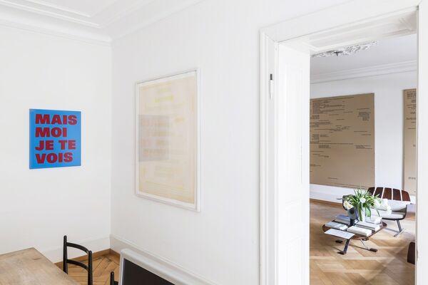 RÉMY ZAUGG – Hommage, installation view