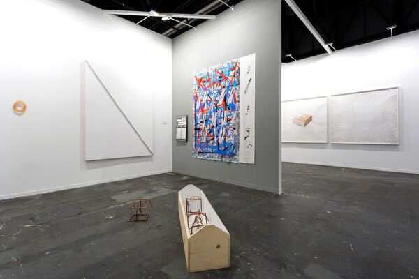 Alexander and Bonin at ARCOmadrid 2019, installation view