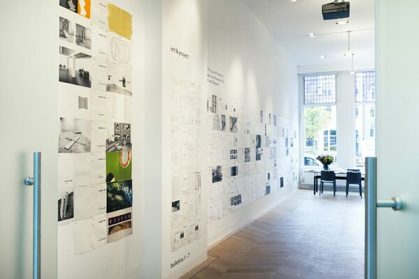 Art & Project Bulletins 1-156, 1968-1989, and New Drawings of Hilarius Hofstede, installation view