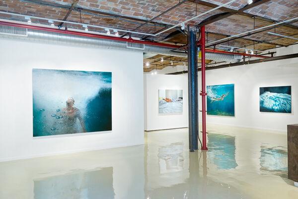 "Eric Zener ""Escape"", installation view"