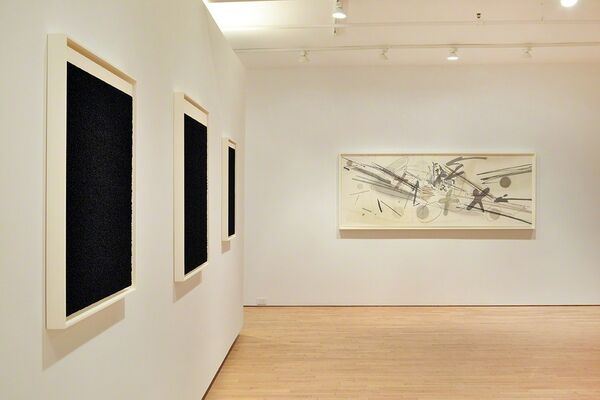 New & Recent Editions, installation view