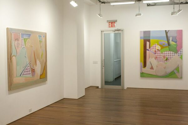 JAMES VISCARDI - Present Perfect, installation view