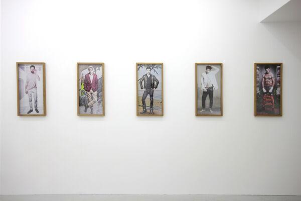 """Stefan Krauth """"Watchlist II/2019"""", installation view"""
