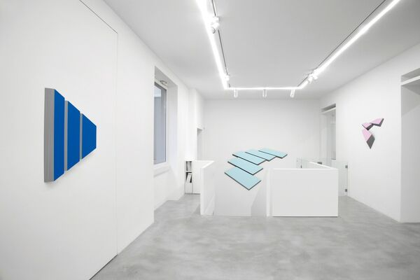 WOLFRAM ULLRICH. Pure color, pure form, installation view