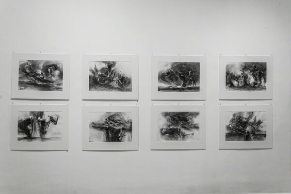James Gleeson, installation view