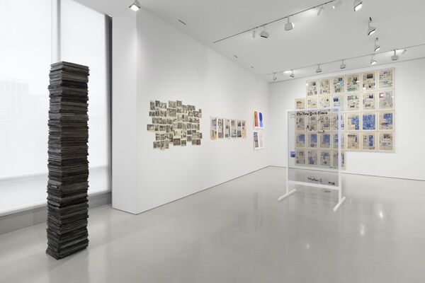 The Times, installation view