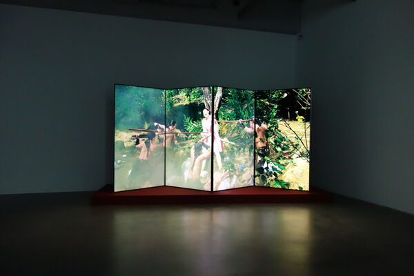Fuse—Video Art Exhibition, installation view