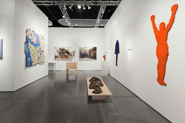 Greg Kucera Gallery at Seattle Art Fair 2016, installation view