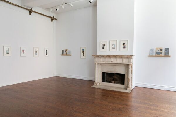 George Negroponte: Gravel Road, installation view