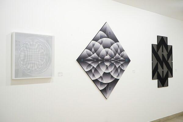 The Art Behind Art, installation view