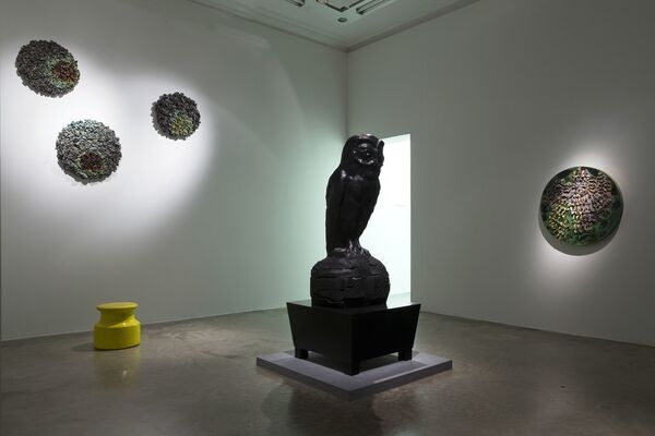 "JOHAN CRETEN ""SUNRISE / SUNSET"", installation view"