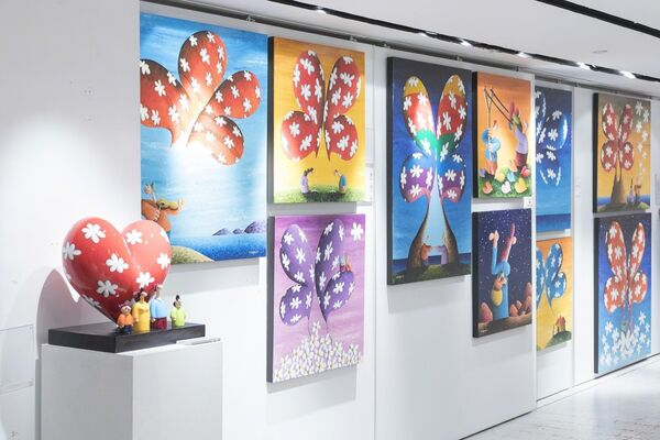 Fly to Love by Coplu, installation view