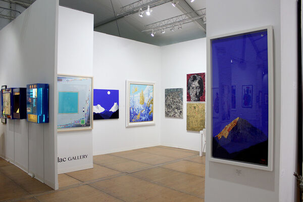 Lilac Gallery at Art Southampton 2016, installation view