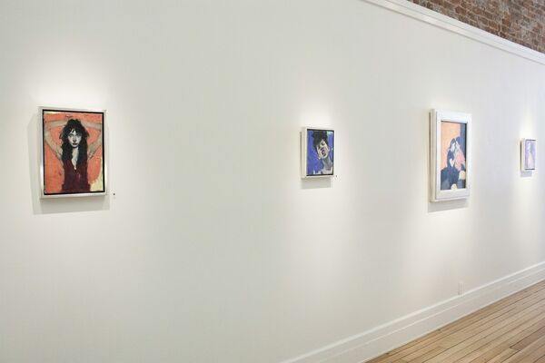 Malcolm Liepke Solo Exhibition, installation view